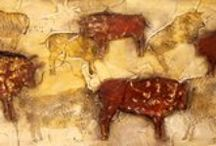 Prehistoric Art / Caves, Lascaux, Altamira, Paintings, Magic, Art, Primitive, Ancient, Strange Beginnings