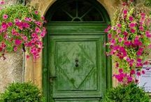 Mediterranean / Culture, Style, Interiors, Fashion, Color, Flowers, Countryards, Sea