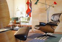 mid-century modern interiors / ikony dizajnu nadają ton aranżacjom. wnętrza wytrawnych  kolekcjonerów.