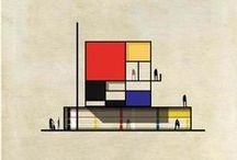 De Stijl / Art, Inspiration, Architecture, Fashion