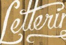 hand lettering / Tutorials