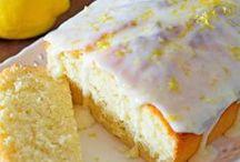 Lemon Desserts / Lemon flavored desserts