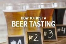 Host a Beer Tasting / The bigger the craft beer movement becomes, the more interesting, and experimental different beers are becoming. Try a new microbrew today and you're likely to experience a variety of bold and subtle flavours that are completely different from the beer next to it on the shelf. No wonder the idea of hosting a beer tastings is catching on in a big way. Like wine, scotch and whisky, beer has a definite tasting process – one that reveals the intricacies of the Brewmaster's art.