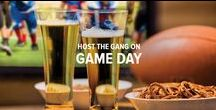 Game Day Entertaining / The best game days all share the same ingredients — your best buddies, great drinks and tasty snacks. Any sound game plan includes the classics, like cold beer, wings and nachos. But to really raise the game, add some spirits, wine and a delicious new appetizer to the roster.