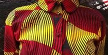 African Wax Print Fabric / A little inspiration for what to make with bold bright wax print fabrics.