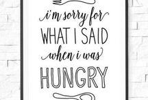 Never not eating