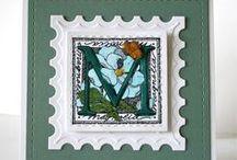 Alphabet-Serendipity Stamps
