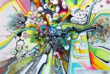 JeffJag's Abstract Art / I've pinned and repinned my artwork here for all the fun. / by Jeff Jagunich