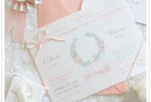 ** Invitation // Faire part ** / by Lucie Fa