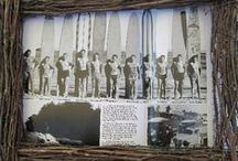 Surfing is in the Heart / Surfing has been cool for a long time. But the history of surfing in the Americas began in 1885, when three Hawaiian princes first surfed the mouth of the San Lorenzo River in Santa Cruz.This Pop Up Museum celebrates Surfing in Santa Cruz History.