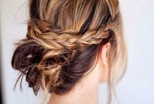 Hair styles / hair inspiration, styling, and products