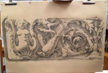 Disegni di Margherita Briganti / Disegni dal vero o da copie realizzati dall'artista Margherita Briganti in arte Megcreative