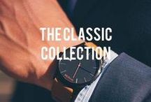 | The Classic Collection | / Minimalist designs for the modern day gentleman.