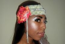 Leanne Ramnarine Accessories / Floral headbands, necklaces, barrettes, etc.