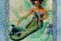 Oracles--Mermaids and Dolphins / Oracle cards / by Faerie Granma