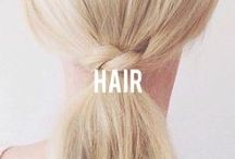 | Hair | / You've got a stylish accessory growing out of your head all day. Use it!