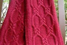 Knit and Croshet scarfs