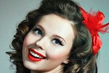 Chassii / Rockabilly, 50's, 60's, hair inspiration, pinup