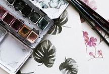 watercolor. / inspiring water color projects.