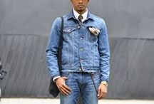 Menswear: Double Denim / Denim is not just a weekend basic, it's a fashion must and this is  how you should be wearing it when you want to double up.