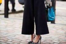 Fashion style: How to wear culottes / Culottes - who doesn't love a pair of these chic shorts? Here's some inspo on how to wear yours.