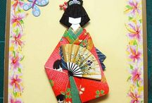 Japanese paper doll,