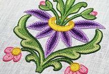 Tambour Embroidery (suzeni)