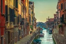 Venezia / Venice, Italia / Venezia. The town, the water channels, the Lagoon, people from Venice, smells, tastes, lights,