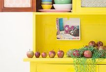 Gelb / Interior Blog mit vielen tollen DIY Ideen: www.homemadebypatricia.de