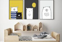 Boys Room Inspo / Boys room décor, prints and furniture inspiration.