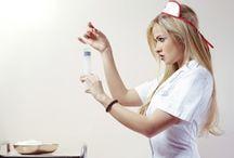 Girl @ Costume (Nurse)