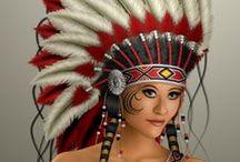 Girl @ Costume (Native American)