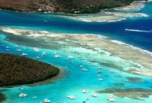 Culebra Island | Puerto Rico / Culebra is an island 20 miles off the north-east coast of Puerto Rico.