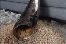 didgeridoo sound sculptures / Didgeridoo made in Italy by the Emeralds tree www.theemeraldstree.com