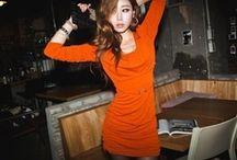 Summer Dress  • Orange