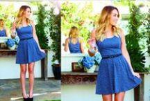 Summer Dress (Blue)