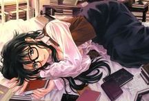 Girl @ Anime (Nerd)