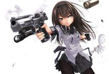Girl @ Anime (Gun)
