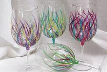 Verres etc... / Vases et autres en verres.
