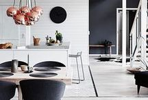 Modern Design / Modern design that encompasses the minimalistic, the neutrals, and of course, the chic.