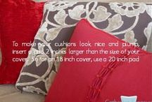 Hints, tips  and guides / Hints, tips and guides to make the most of your home, interior design and soft furnishings