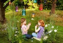 Backyard & Frontyard Nature Play Ideas / Creating fun backyards for kids to explore and create memories in, can be both easy and inexpensive.