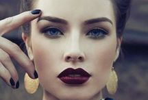 make up / The most beautiful makeup of a woman is passion. But cosmetics are easier to buy.