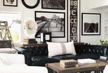 Industrial Design / Industrial is in. See what pieces can make even a country home feel like the center of a city.