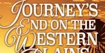 "Journey's End on the Western Plains / Historical rural romance novella set in 1920s outback Queensland ""Coming home can be harder than leaving."""