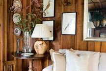 Rustic Design / Rustic charm done right.