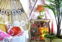 Bohemian Design / Take a tropical getaway to your own living quarters.