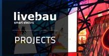livebau Projects / Some of the global lighting projects of livebau smart electric. Innovativ and state-of-the-art facade lighting as well as interior lighting based on smart lighting control systems, advanced media technology and automation.