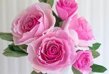 • papieren bloemen •