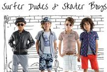 Surfer Dudes and Skater Boys / The coolest summer outfits for boys are stolen straight from the skatepark and the beach. It's the rad surfer style and cool skater looks that always get the most street cred.  / by Appaman